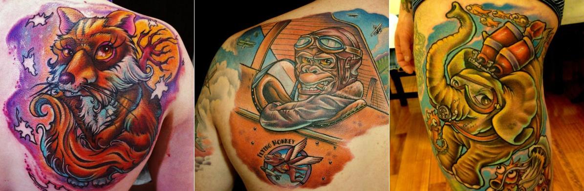 Marzari Começou a Tatuar em