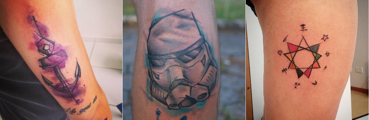 e Encontrou na Tatuagem