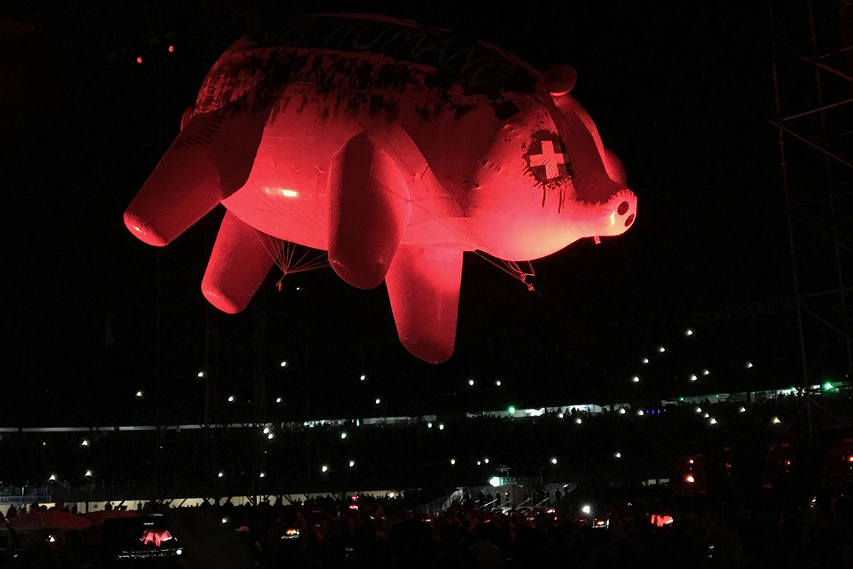 Roger Waters: stay human!