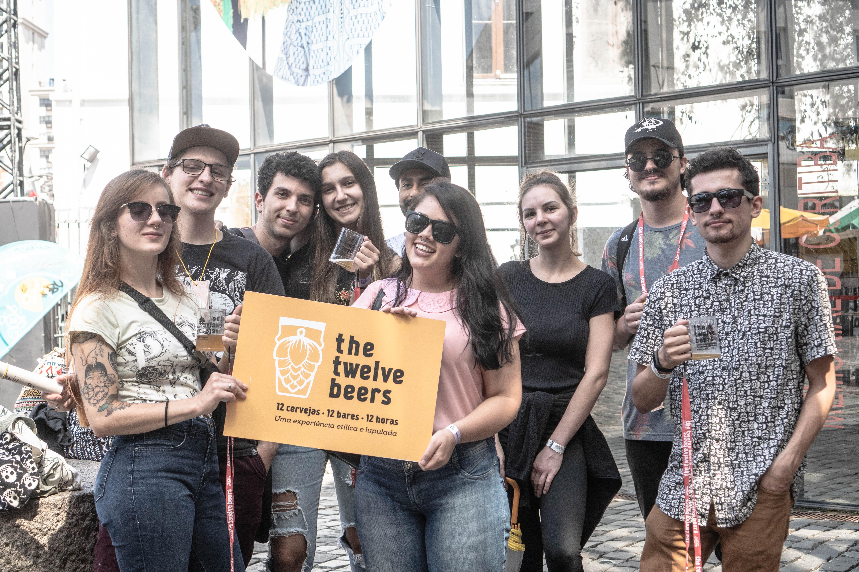 E o que seria da cerveja sem os encontros do The Twelve Beers? | Crédito: Fernanda Kogin