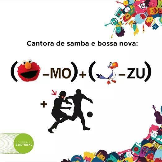 A fan page da Prefeitura de Curitiba, a Prefs, publicou charadas para divulgar as atrações da Corrente Cultura. Esta é a da Elza Soares.