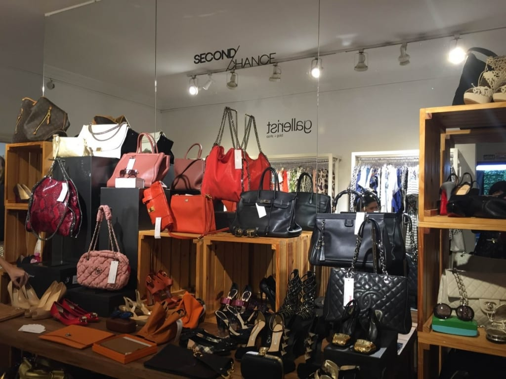 O e-commerce é especialista em marcas de luxo.
