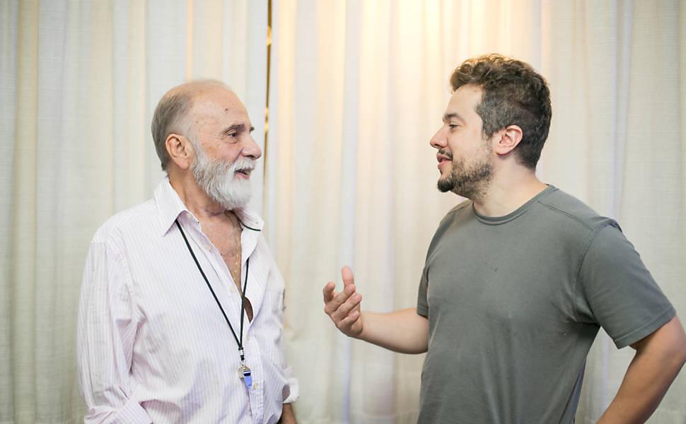 Renato Borghi e Élcio Nogueira