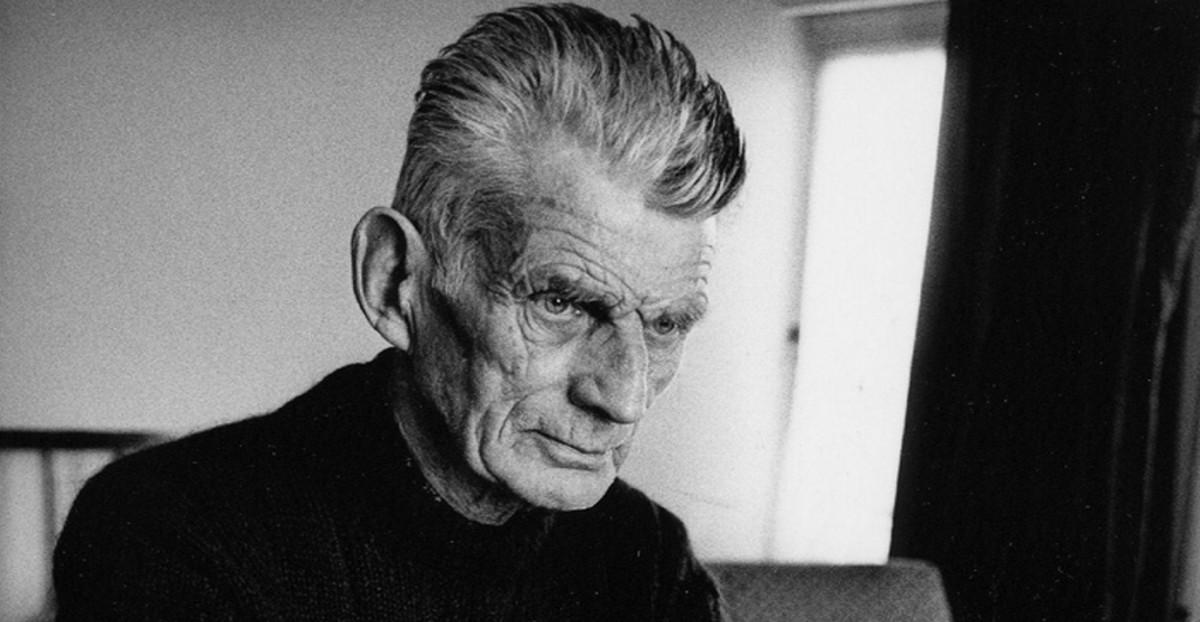 Samuel Beckett, autor da peça