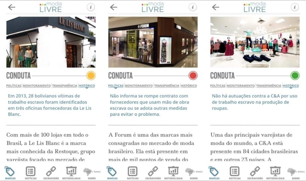 app moda livre