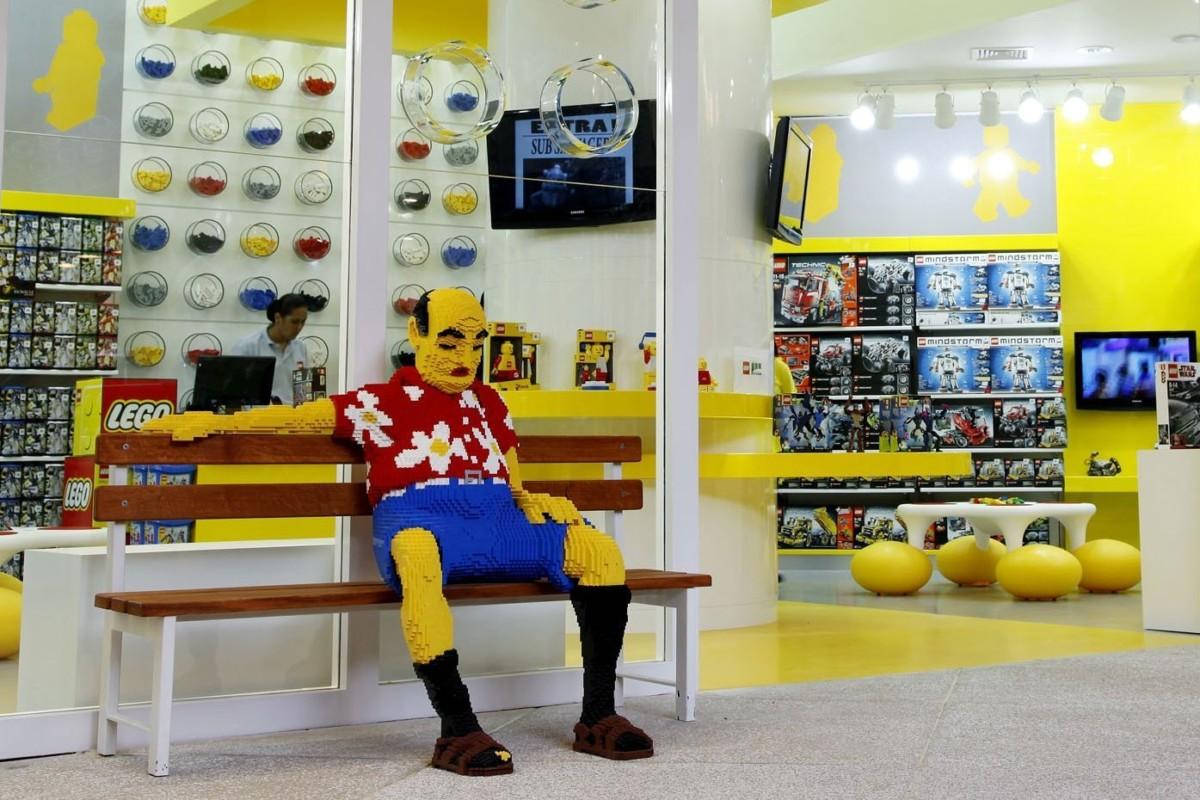 28/04/2010 - Lego - Inauguração da Primeira loja Lego no Brasil no Shopping Cidade Jardim - São Paulo -SP
