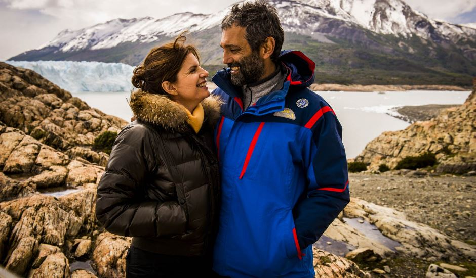 Débora Bloch e Domingos Montagner, em Sete Vidas. Foto:João Miguel Júnior/TV Globo