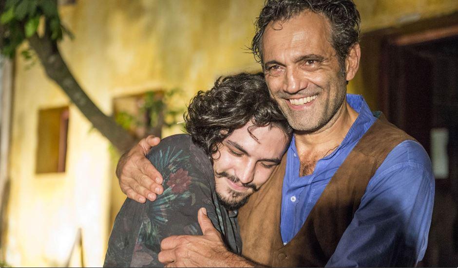 Gabriel Leone e Domingos Montagner em Velho Chico. Foto: Renato Rocha Miranda/TV Globo